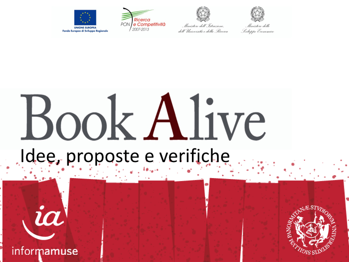 bookalive workshop confronto